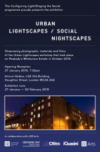 Urban Lightscapes Exhibition Invite - 20141217