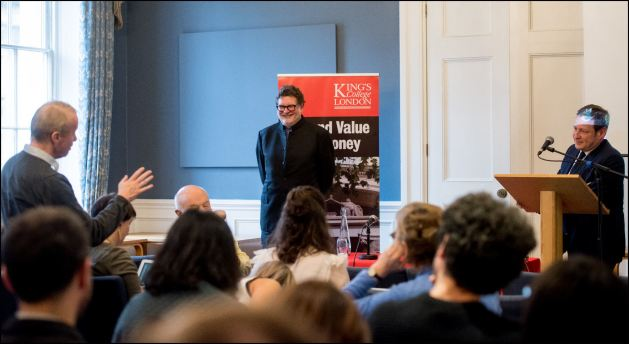 Beyond Value Event KCL at the  on the 13/12/2016. Photo: David Tett